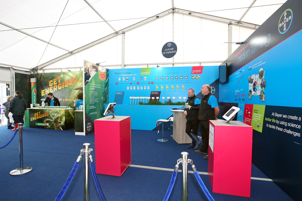 Bayer unit at the national ploughing championships 2018