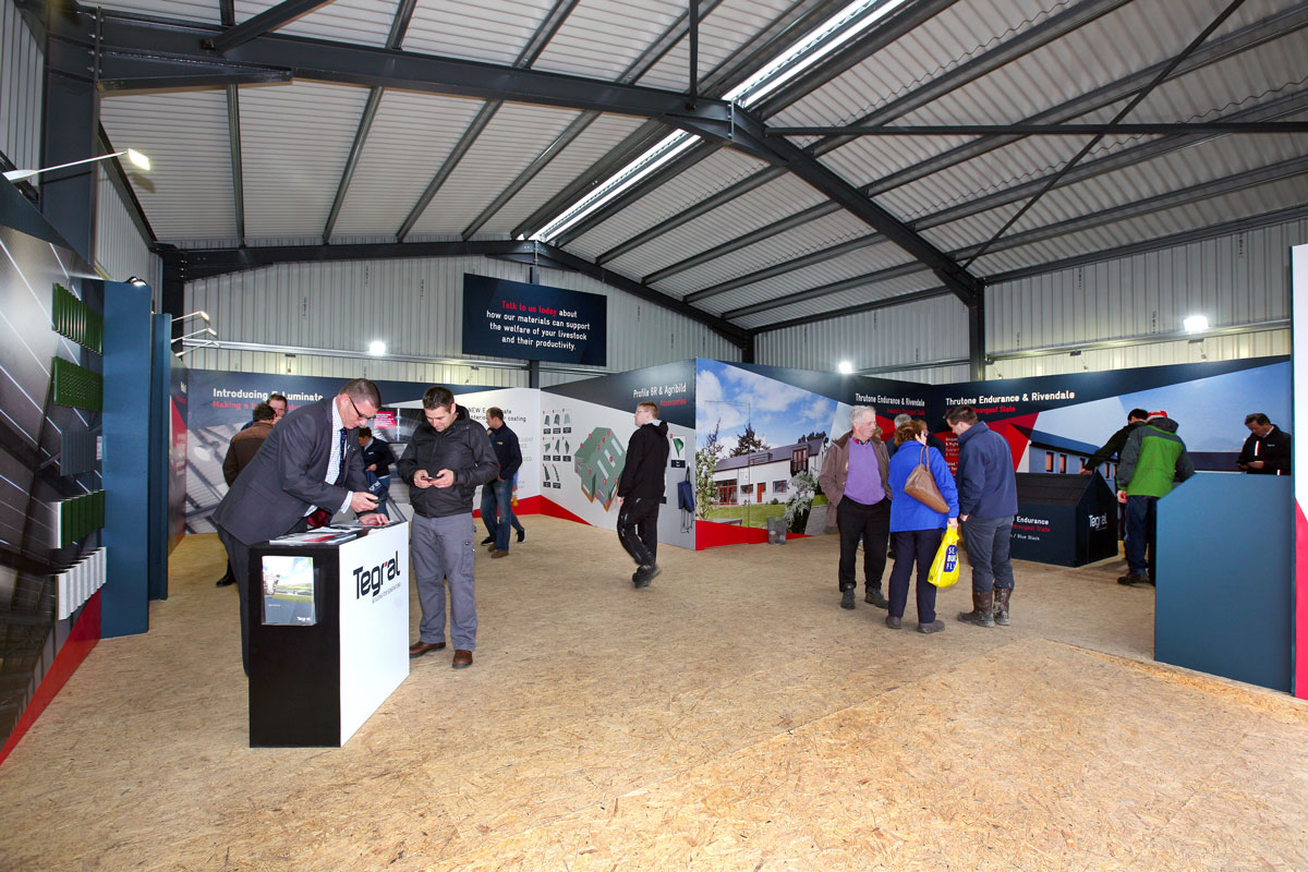 Tegral unit at the national ploughing championships 2018