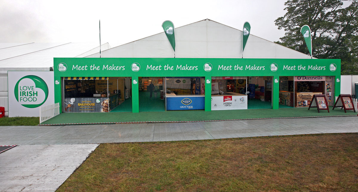 Meet the Makers stand at Bloom in the Park