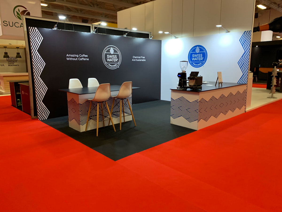 W Display - WORLD OF COFFEE 2019