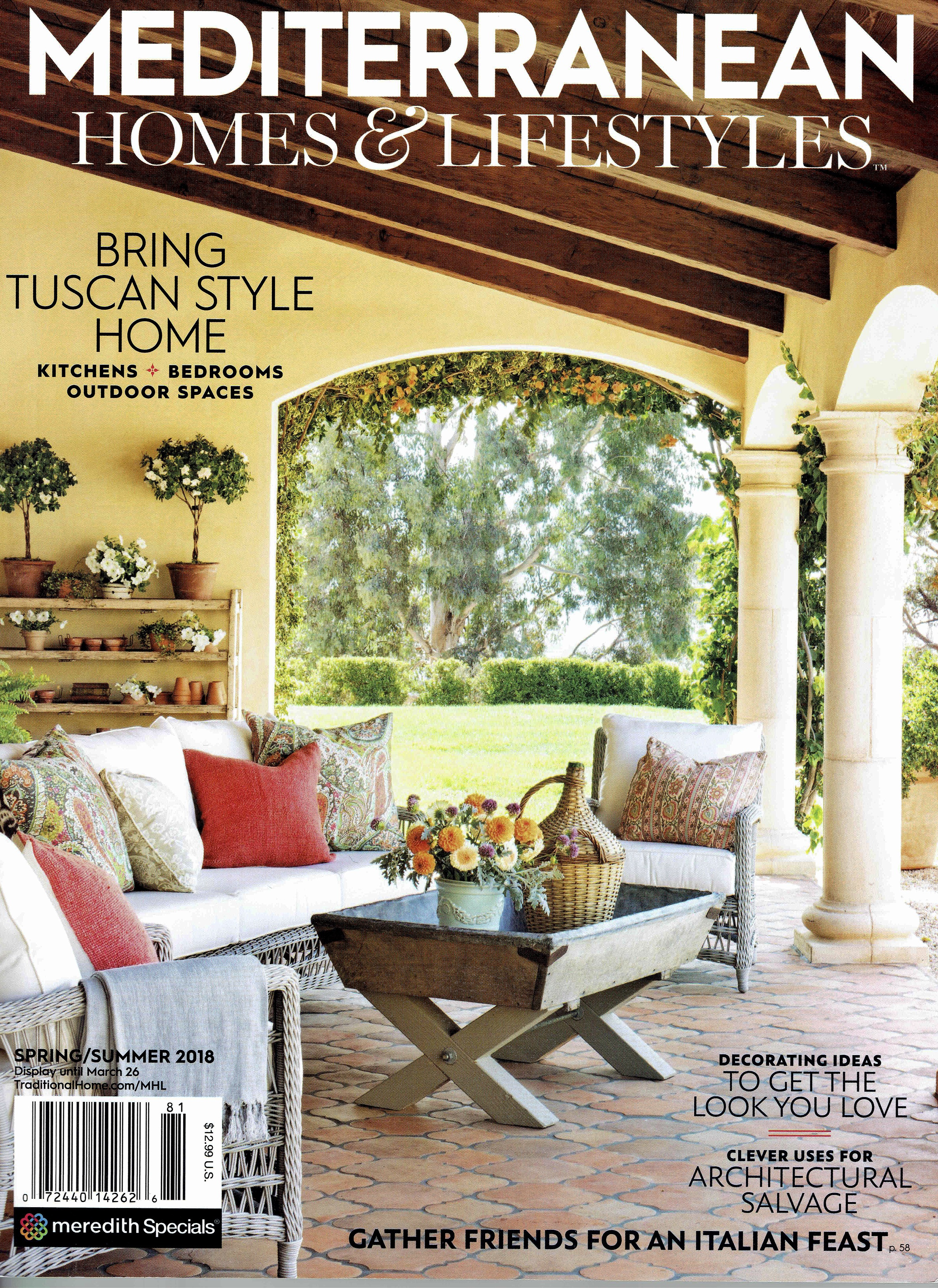 MEDITERRANEAN HOMES + LIFESTYLES