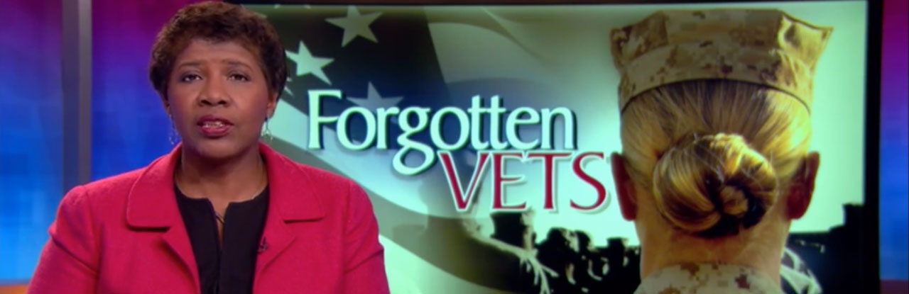 Watch this national story on Dress for Success Triangle NC's ground-breaking programming for female veterans.
