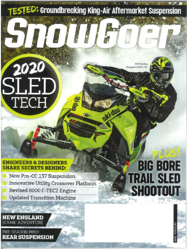 CLICK IMAGE to read recent SnowGoer Article