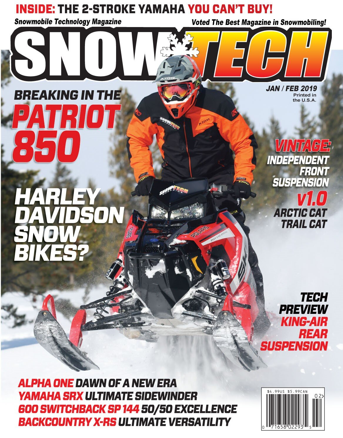 CLICK IMAGE  to read recent SnowTech Article