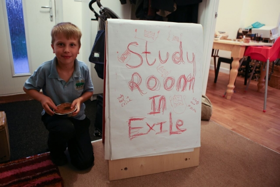 Image credit:Study Room in Exile is LADA's satellite study room housed in the  Institute for the Art and Practice of Dissent at Home in Liverpool
