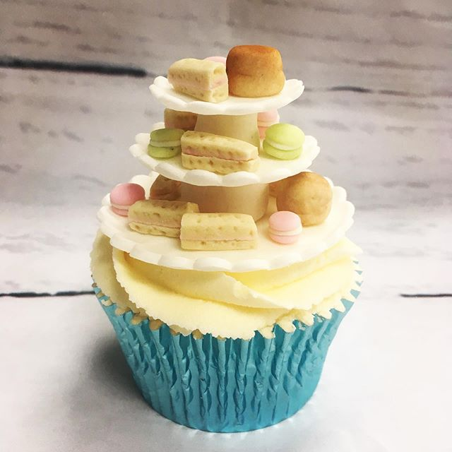 Afternoon tea and knitting cupcakes, sounds bliss doesn't it! #rockthebake #stourbridgecupcakes #stourbridge #oldswinford #hagley #wollaston #kinver #kingswinford #knittingcupcakes #afternoonteacupcakes