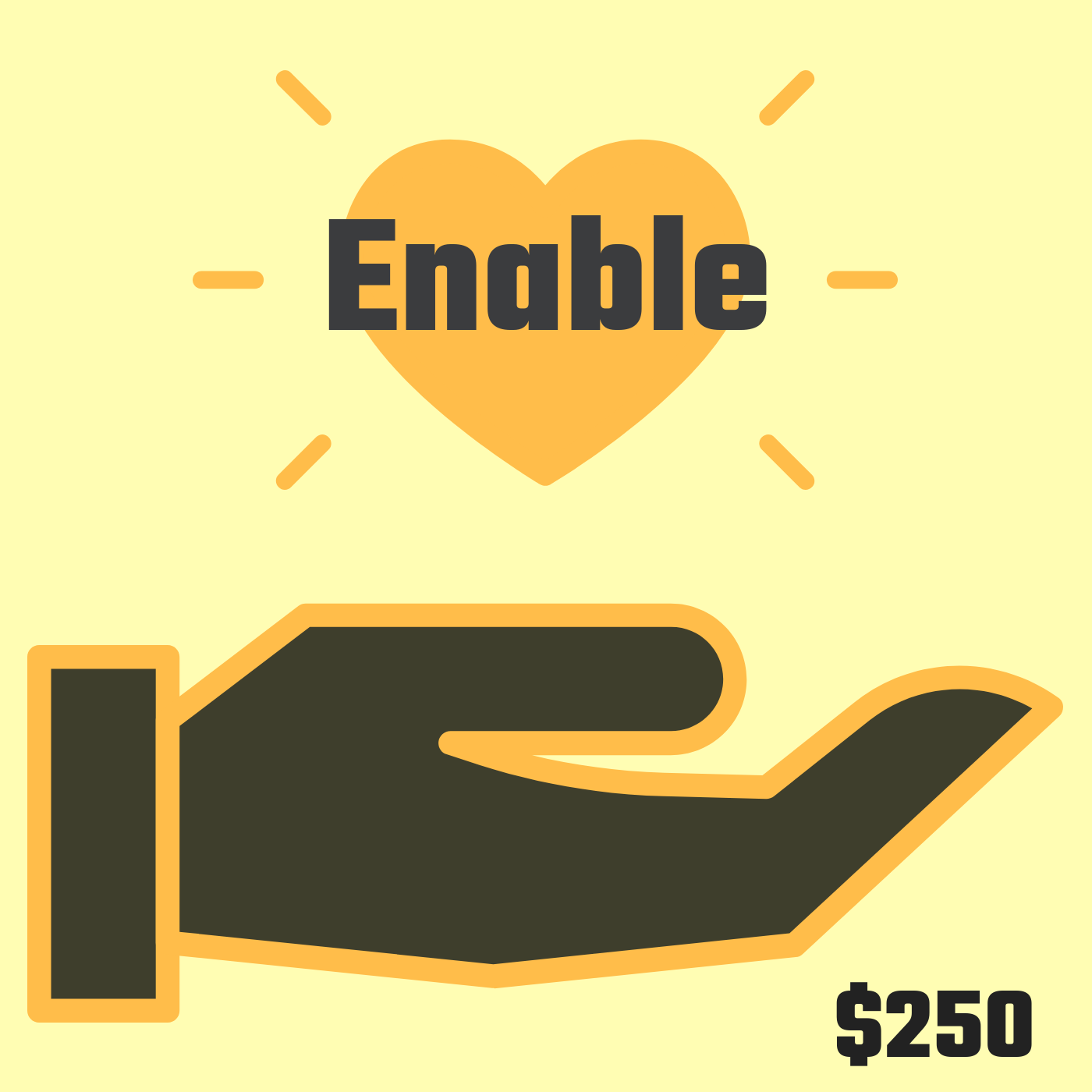 Enable ($250+) - You believe in us and it means so much that you're actually helping us bring 20s and Change to life! We want to thank you and celebrate you. Benefits for Enable Patrons include:- recognition in our film credits, on our landing page and in our digital content compilation- a thank you postcard and video just for you from San Francisco- a photo of us in San Francisco with a sign holding up your name- a 20s and Change t-shirt- opportunity to be featured in the Let's Care podcast before the film is released and subsequent mention in a story written for Thrive Global