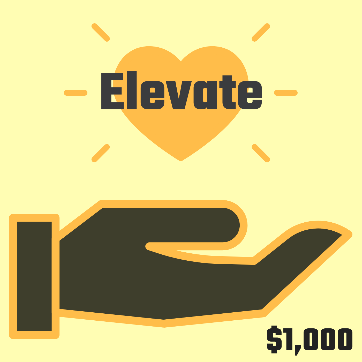 Elevate ($1,000+) - You love us, you really love us! We're so grateful for you and want to go deeper. We want to learn from you and share more of ourselves with you and yours. Benefits for Engage Patrons include everything from the previous packages and:- a Let's Care podcast episode featuring you and your impact — because we want to know more about who you are and why impact is so important to you- a 1 day social media takeover (including Facebook or Instagram Live) where we interact with your community through your channels- a live digital event on Zoom, Google Hangouts on Air or another webinar platform for you and your community- prominent recognition at film screening events