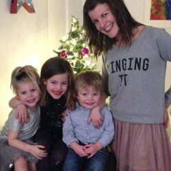 Amy and her beautiful 3 children!