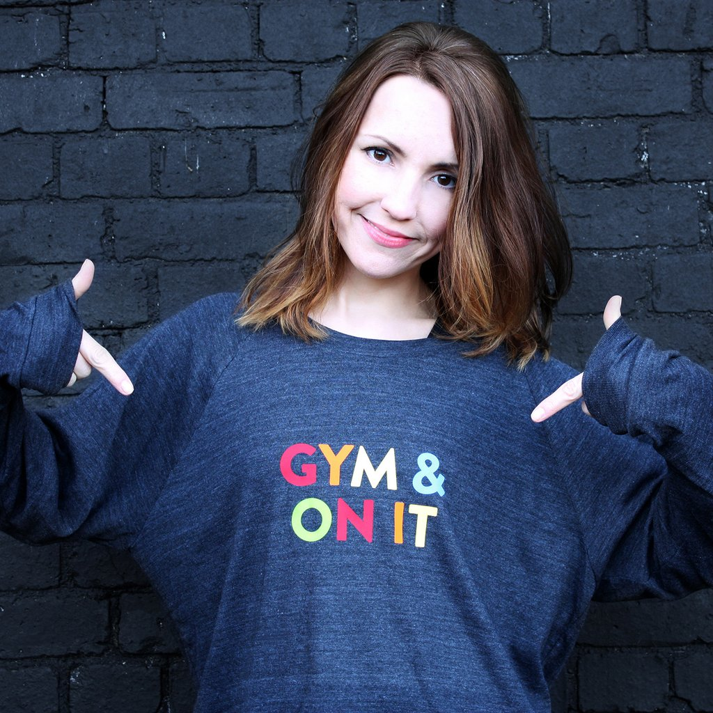 You can buy Gym & ON IT from Parent Apparel for £28.00