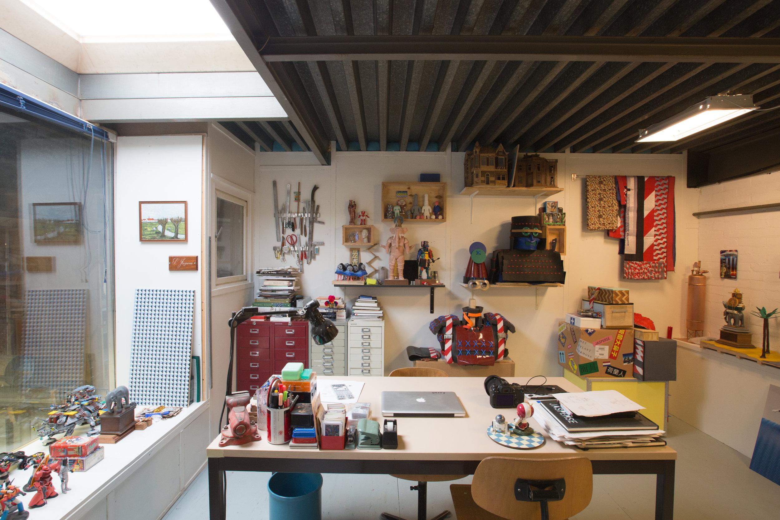 Studio, Eindhoven, 2018, (Foto: Adriaan de Man)