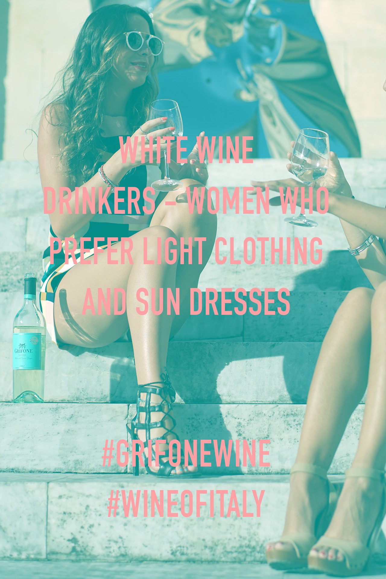WOMEN WHO PREFER LIGHT CLOTHING #GRIFONEWINE