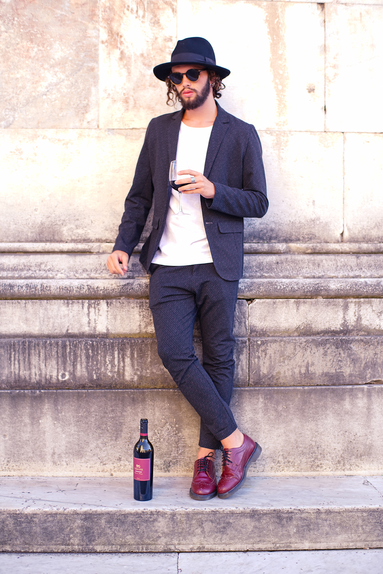 what means for BEING STYLED WITH AN HAT #grifonewine