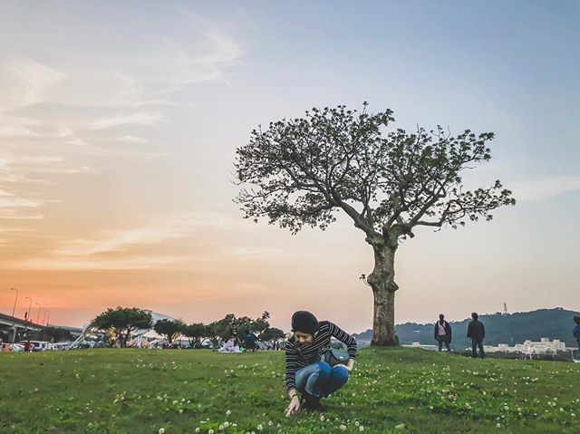 A moment a love, a dream aloud, a kiss a cry, our rights, our wrongs- . . . . . #sweetdisposition #mikiratsula #park #sunset #taipei #taiwan #explore #fun #nature #photography