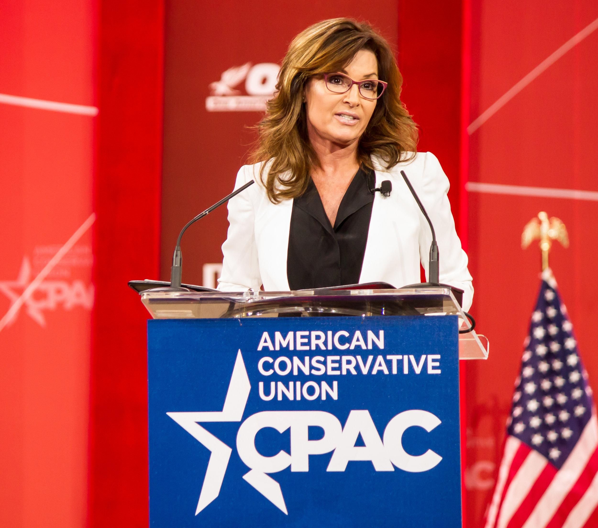 9th  Governor of Alaska  Sarah Palin - CPAC 2015