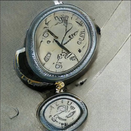 """BigCAN Algorithm Generated version of a stopwatch, or """"how our computer overlords view timepieces"""""""