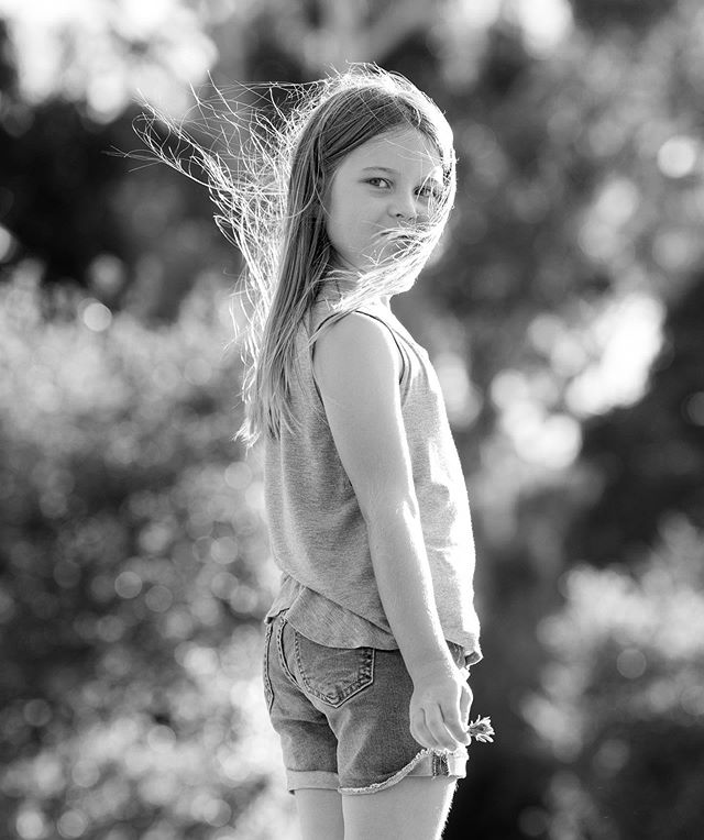 Kai, a beautiful free spirit - I loved photographing her and her younger brother playing at home in Millbrae