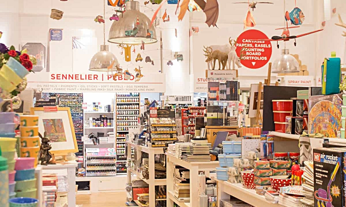 TRURO ARTS COMPANY - Huge art and craft store, next to the Royal Cornwall Museum. Stocking everything from specialist art materials, to children's crafty gifts, all at great prices. Kids and adults workshops, café and exhibition space. 10% discount for students and professional artists!01872 240567