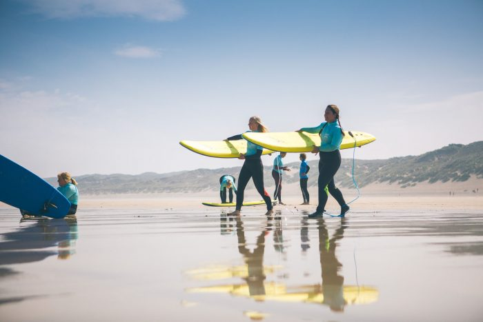 SANDY ACRES SURF SCHOOL - Come and surf away from the crowds! Sandy Acres provide lessons for all ages and abilities in the calmer waters of St. Ives bay. Small group sizes. Fully qualified & professional instructors.07415 946025