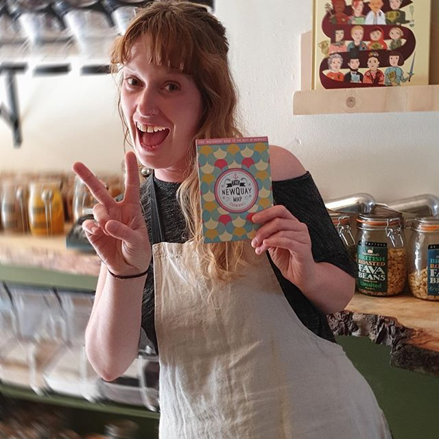 #plasticfreejuly2019 On Fore Street in #Newquay is the most beautiful ethical lifestyle store set up by Laura (pictured) and Jaime. Plastic free refills for food, laundry and bathroom, gorgeous organic children's clothing and ethical home & lifestyle products. Spreading good vibes while looking after the planet. Be a conscious consumer and say @hello_good_lyfe! Open every day 🙂  #cornwallguide #goplasticfree #plasticfreejuly #plasticfreeliving #newquaylife #newquaycornwall #cornwallliving #littlebirdieguides
