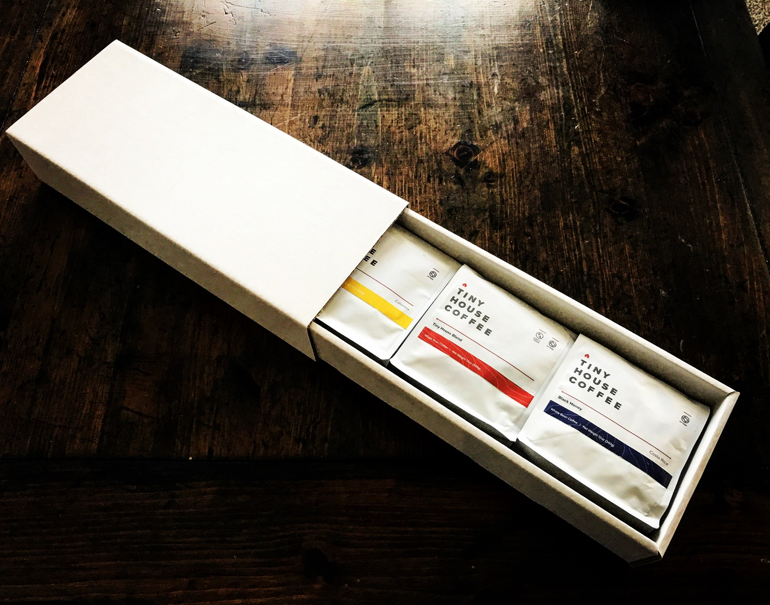 Tiny House Coffee Packaging