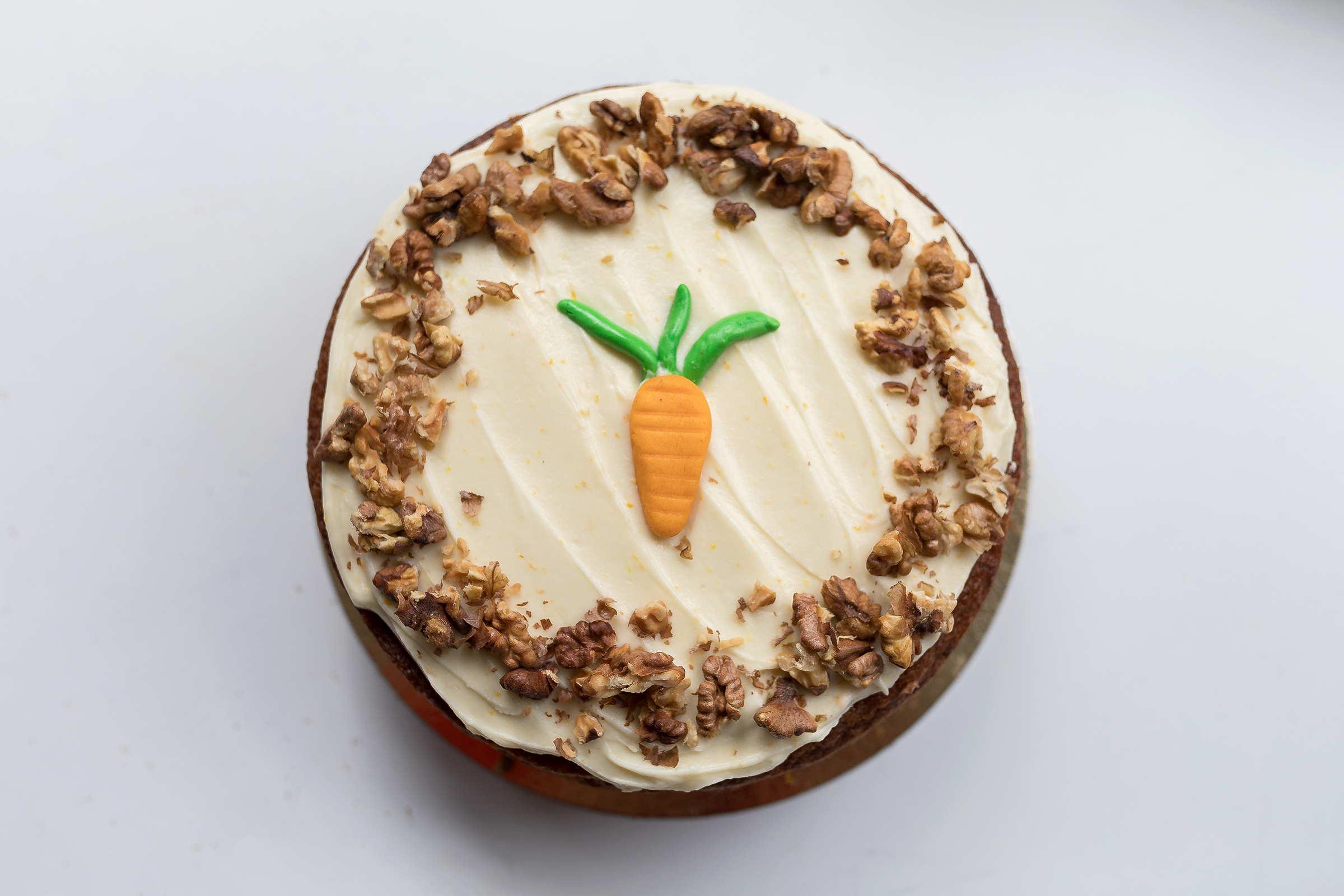 Carrot cake - Delicious home made Coffeelicious Carrot cake serves up to 12 persons easily and will cost 33,50
