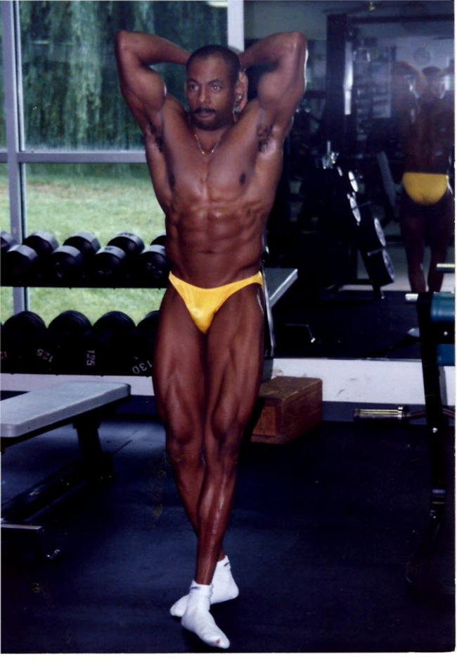 Bill in his competition days; competition ready!
