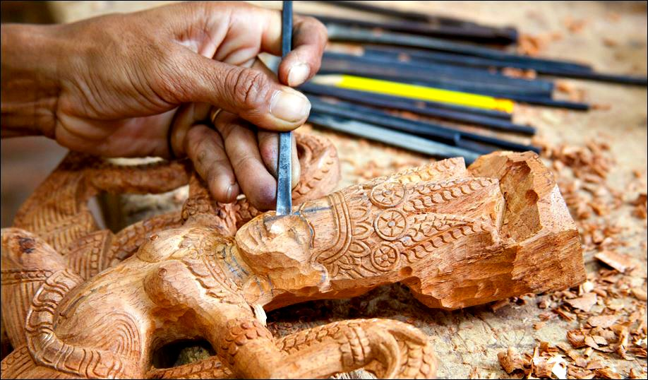Artisans Angkor workshop in Cambodia ensures integrity of local handicrafts. Photo: Artisans Angkor