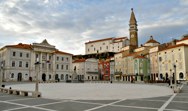 Tartinijev Trg - the town square in Piran