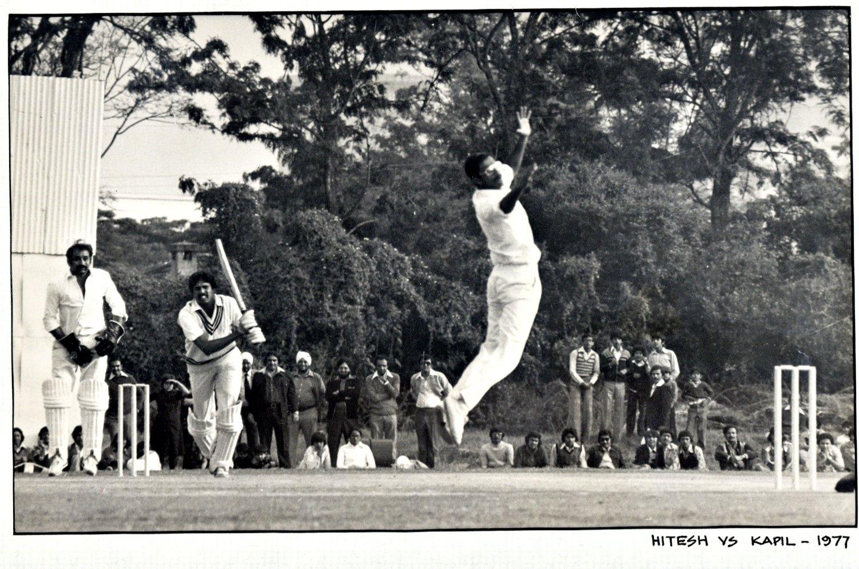 Hitesh is a member of the Cricket Hall of Fame. Photo: Hitesh Mehta
