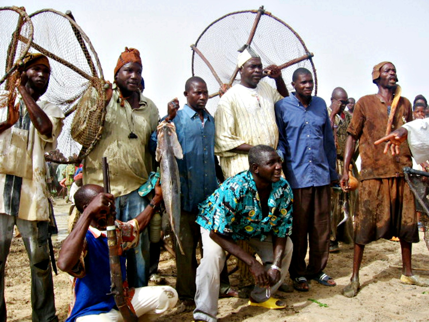 'Sanké mon, collective fishing rite of the Sanké': ©DNPC, 2007, with the permission of UNESCO