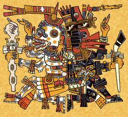 Mayan gods.