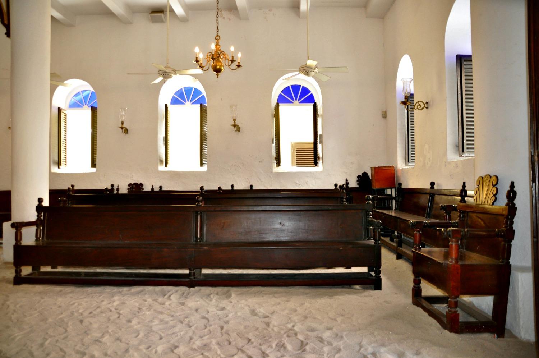 Mikve Israel Emanuel Synagogue. Photo: Meg Pier