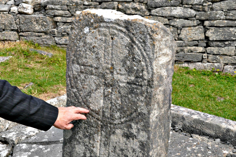 """Seven Romans"" gravestone. Photo: Meg Pier"