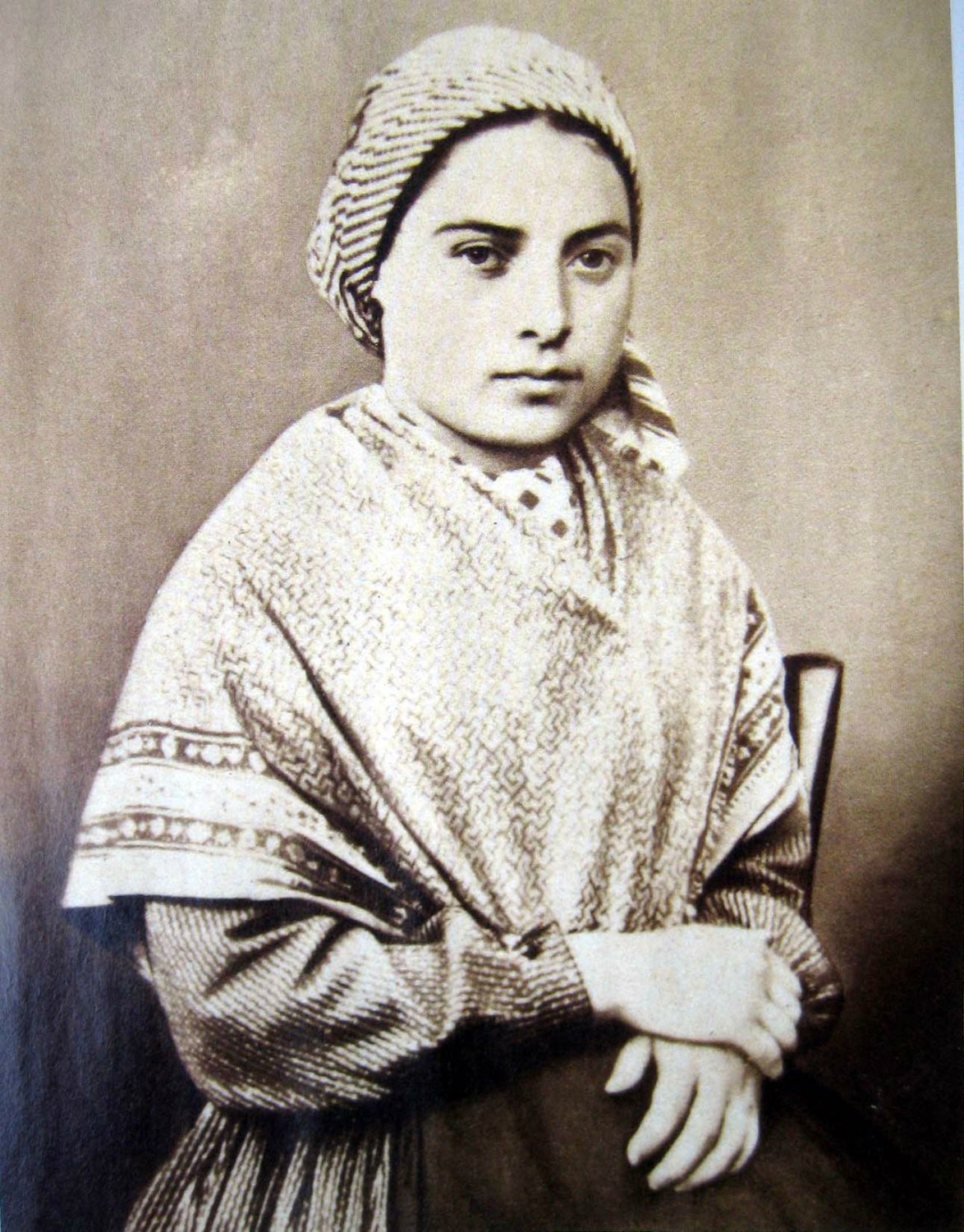 St Bernadette. Photo: Unknown ( Wiki Commons )