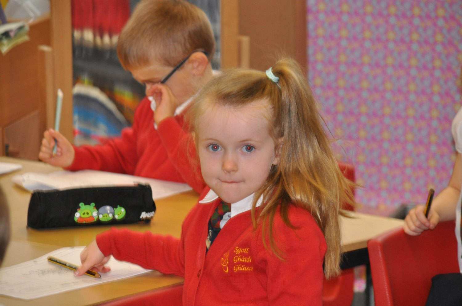 Sixty - seventy percent of the Glasgow Gaelic School students do not have a Gaelic connection. Photo: Meg Pier