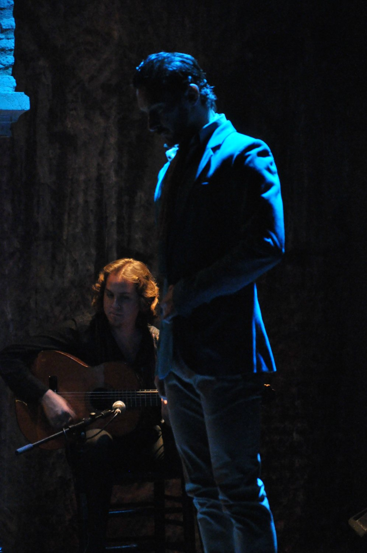 Victor Bravo in a flamenco performance