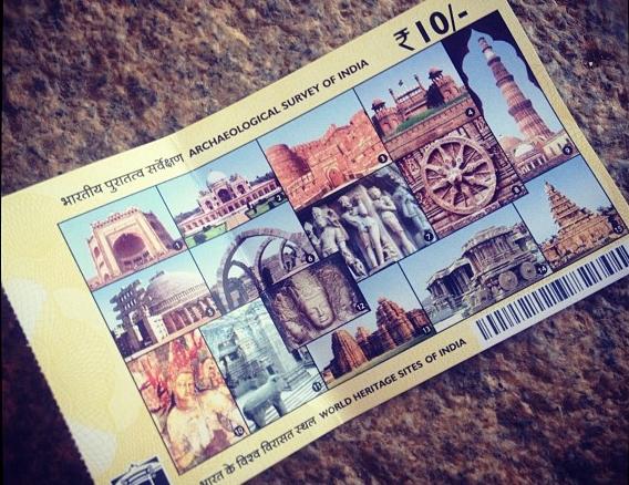 A UNESCO World Heritage Site ticket inspired a movement. Photo: GoUNESCO