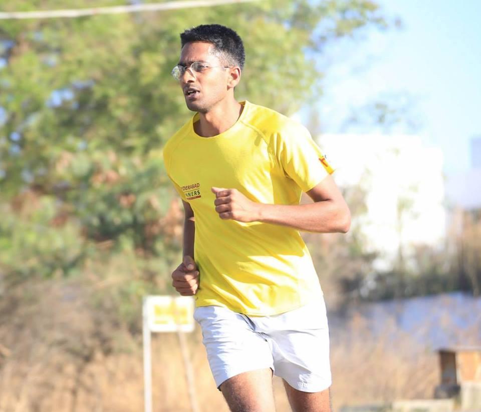 """Ajay Reddy"""" """"Life is like a marathon."""" Photo: Ajay Reddy"""