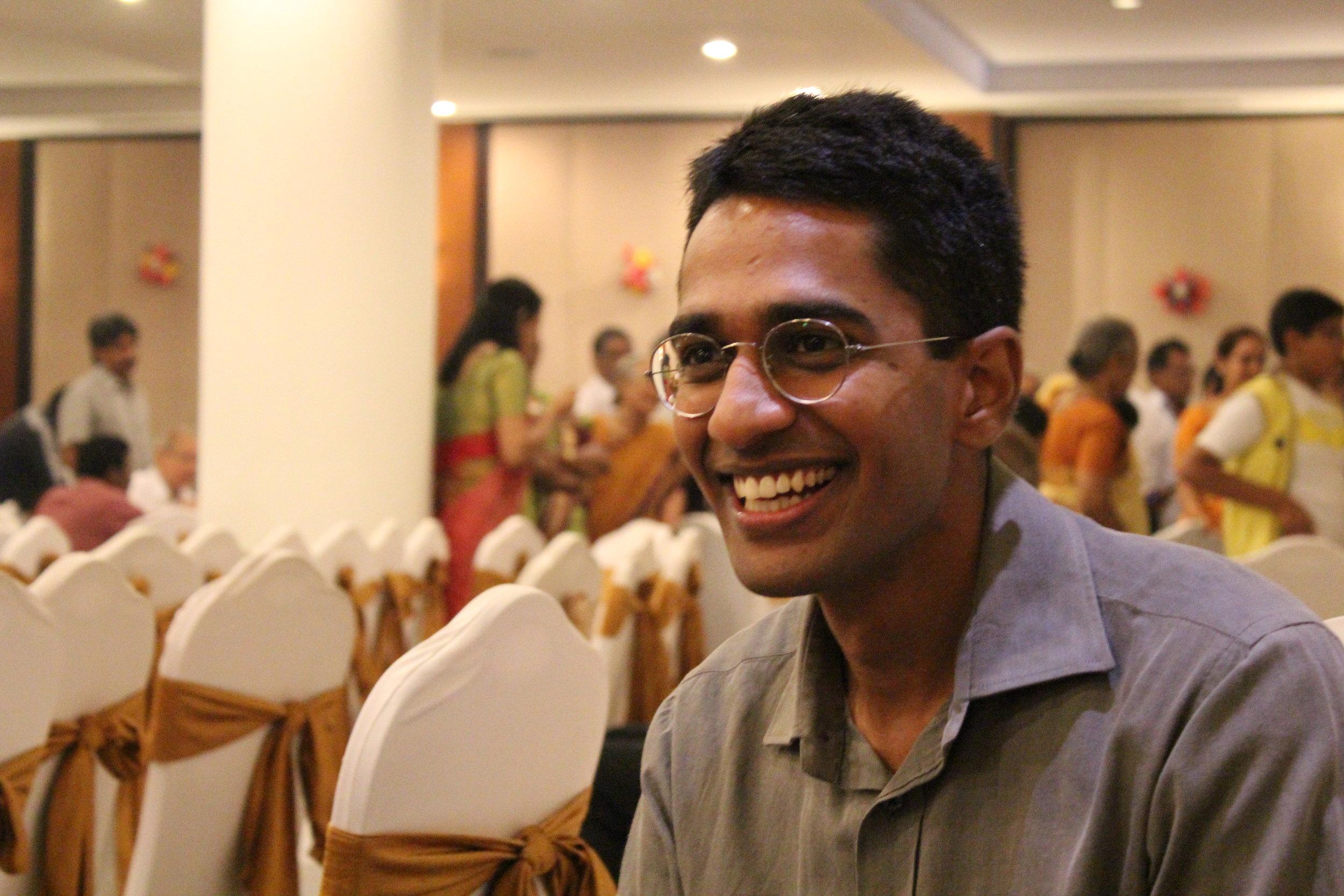 Founder of GoUNESCO, Ajay Reddy.