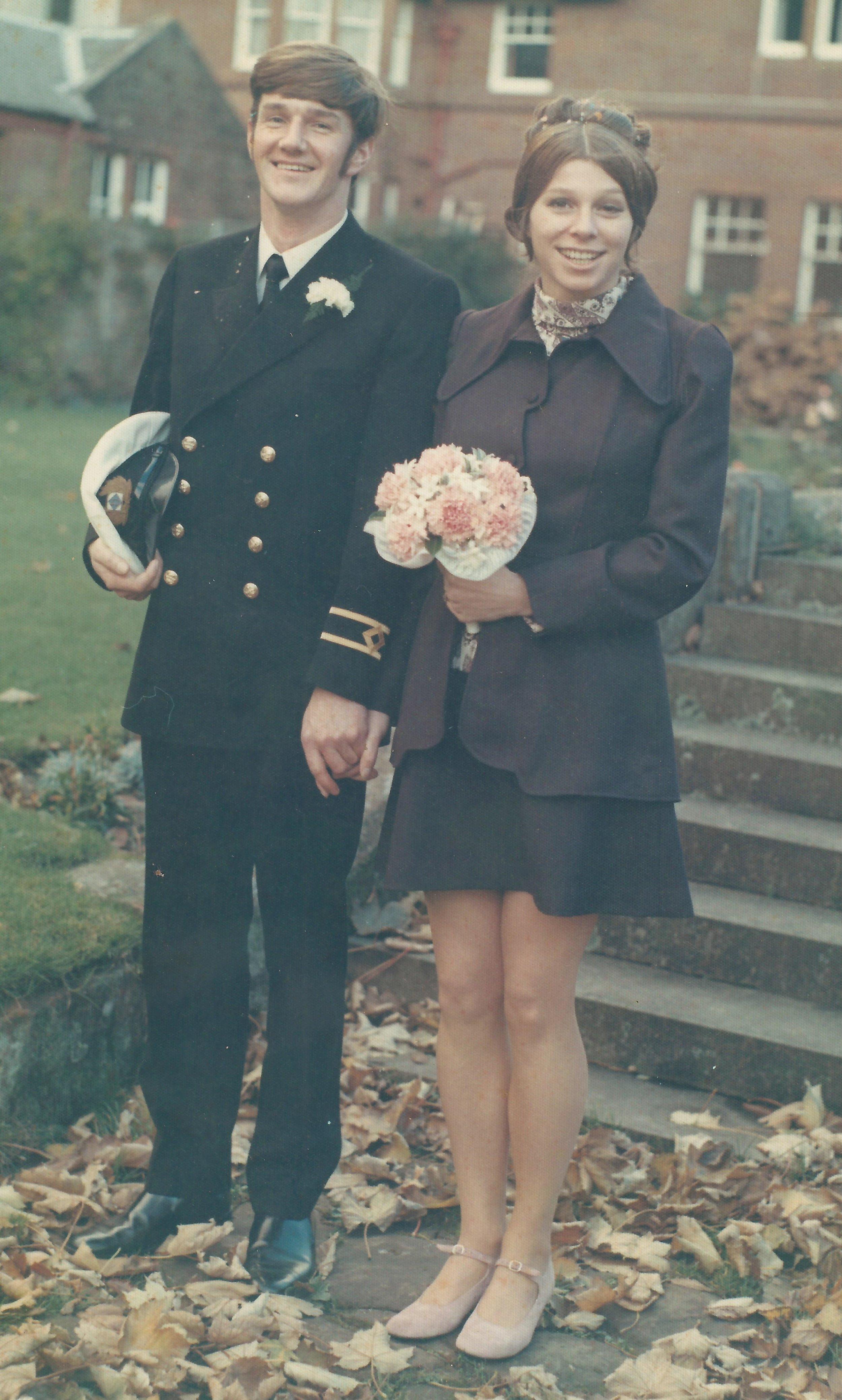 The newlyweds. Photo: Turus Mara