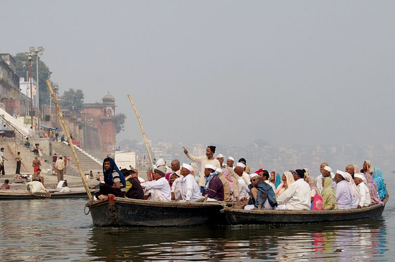 """The Ganges is one of the places Hindus consider to have """"spirit of place"""" that attracts sensitive souls. Photo: Scott Dexter"""