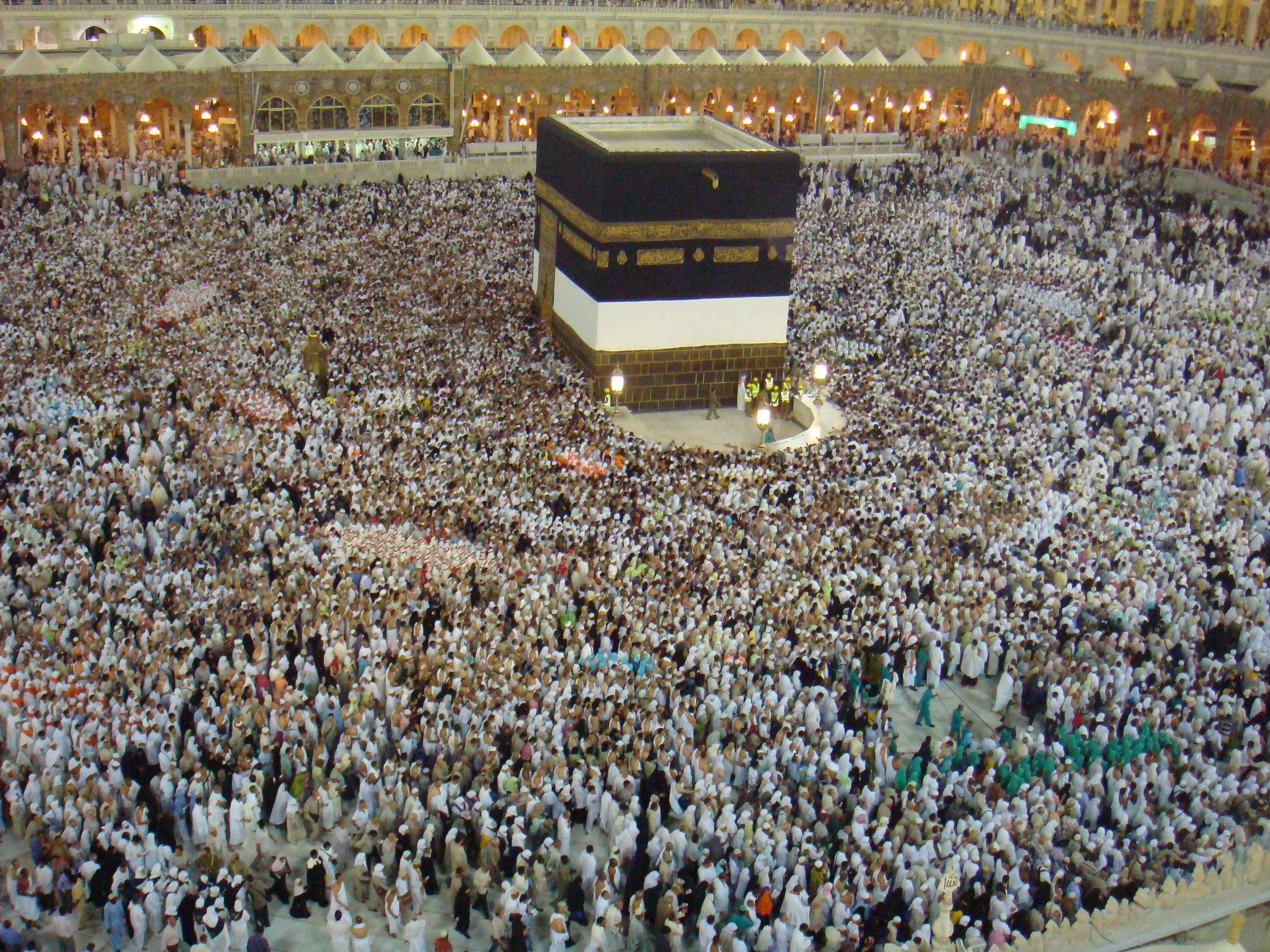 The Hajj. Photo: Al Jazeera English (Flickr)