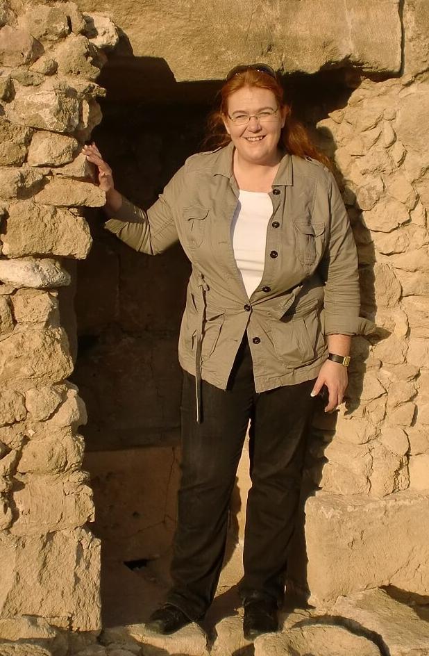 Thingvellir Archaeologist Margret Hallmundsdóttir.