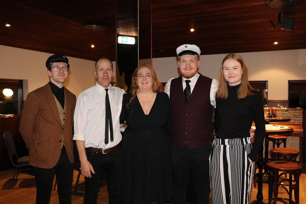 Margret and her beautiful family. Credit: Margret Hallmundsdóttir.