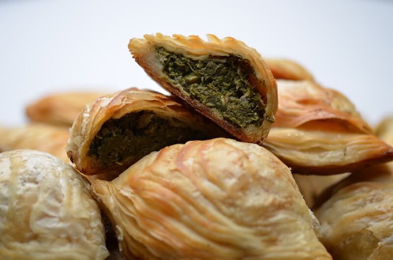 Anchovy & Spinach Pastizzi. Photo credit: Pierre Balzia
