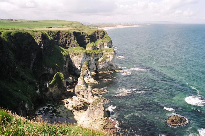 Ireland cliffs. Photo credit: Meg Pier