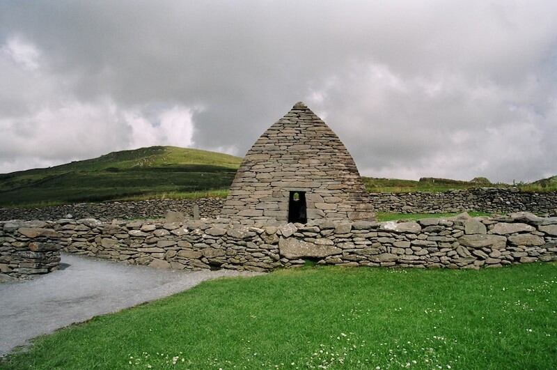 Gallarus Oratory a chapel believed to have been built in the 11th-12th centuries. Photo credit: Meg Pier