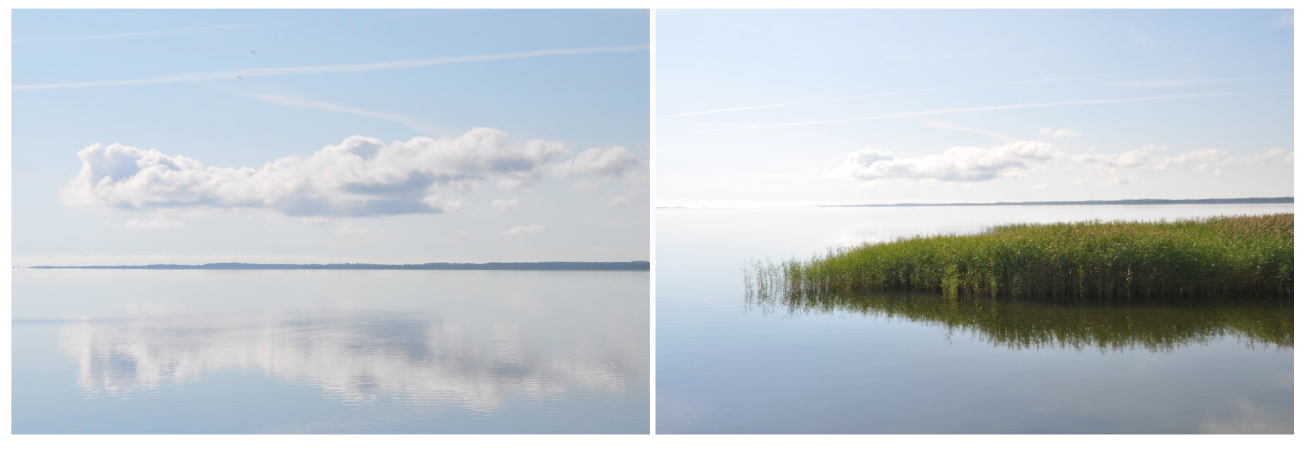 The Vaike Vain, the channel that separates Muhu Island from Saaremaa. Photos: Meg Pier