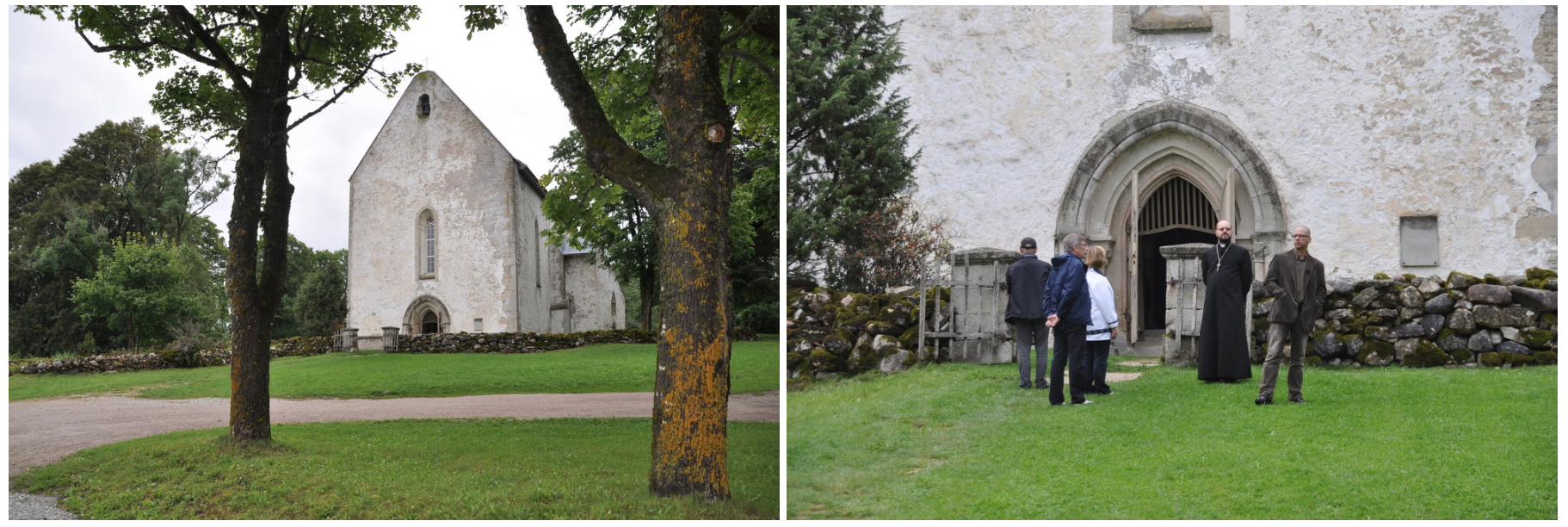 Saaremaa's smallest church, Karja, is dedicated to St. Catherine and St. Nicholas. Photos: Meg Pier